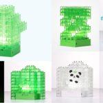 LED-Lampe mit 64 Blöcken im Lego-Stil für 13,50€