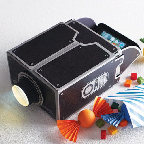 cardboard-projector
