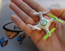 Mini-Quadrocopter: Cheerson CX-10 für 13€ – so cute!