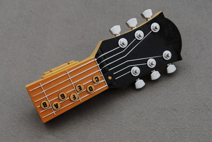 Schwarze E-Luftgitarre