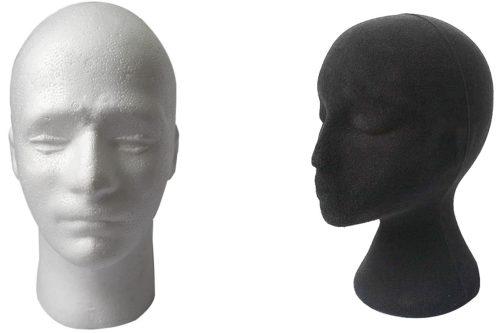 Styropor-Kopf