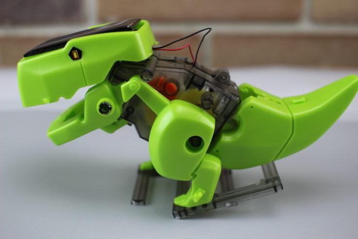 DIY Solar Dino Roboter