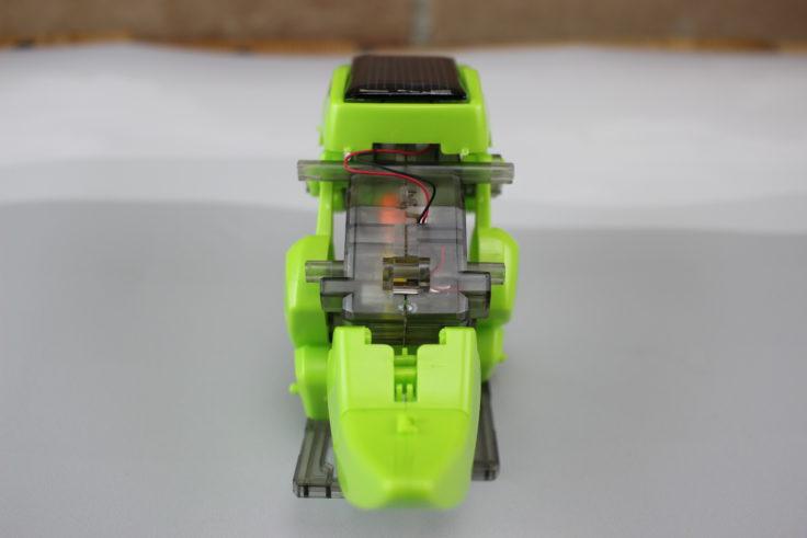 DIY Solar Dino Motor