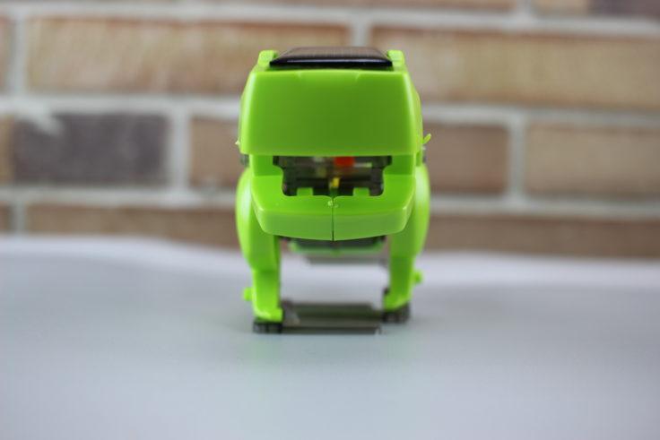 DIY Solar Dino von vorne