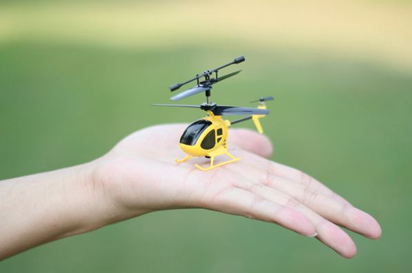 mini-helikopter