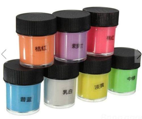 phosphoreszierend-farbe