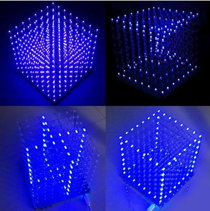 Do-it-yourself mit den LED Cube Bausätzen ab 5,61€ zum selbst löten