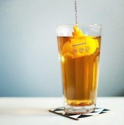 Tee U-Boot im Glas
