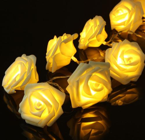 rosen-lichterkette
