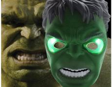 LED-Hulkmaske