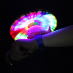 LED armband windmill