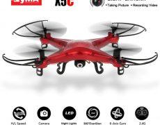 Quadrocopter Syma X5C Klon für 18,21€ MIT Fernbedienung & Kamera