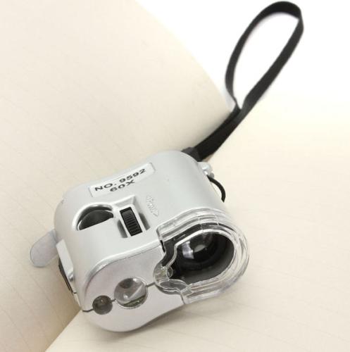Pocket Microscope 60x 2