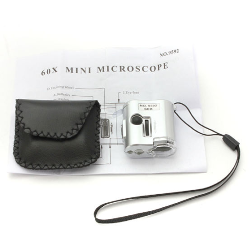 Pocket Microscope 60x 3