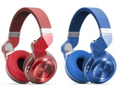 Bluedio T2+Kopfhörer Rot & Blau