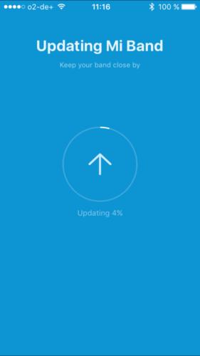 Armband updatet automatisch!