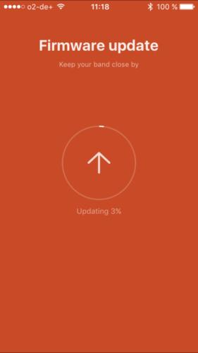 Firmware updatet automatisch!