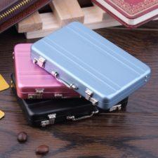 Visitenkarten Mini Koffer