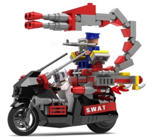 RC Motorrad Bausteine
