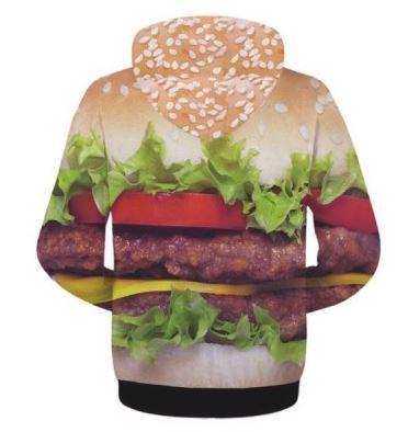 Ich bekomme Hunger! Burger-Hoodie!