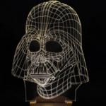 3D-Gitter-Lampen