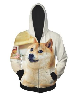 So fluffy, such wow! Doge Hoodie