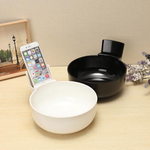 Suppenschüssel Smartphonehalter