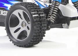 Reifen mit gutem Grip: der WLtoys Vortex A959
