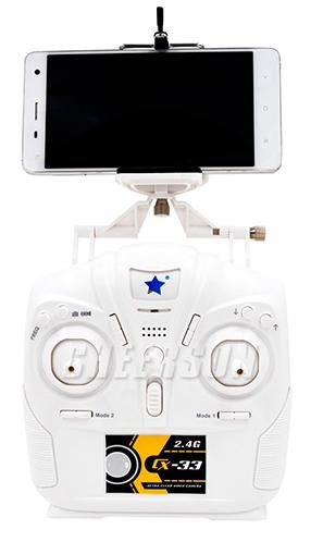 Smartphone und Transmitter