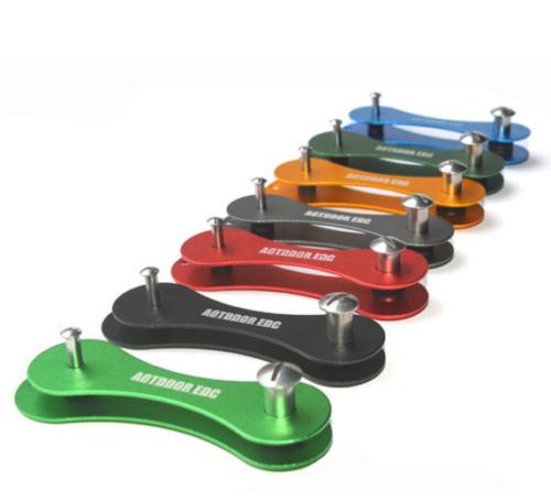 Aluminium Schlüsselhalter in verschiedenen Farben