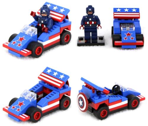 Cpt America Lego