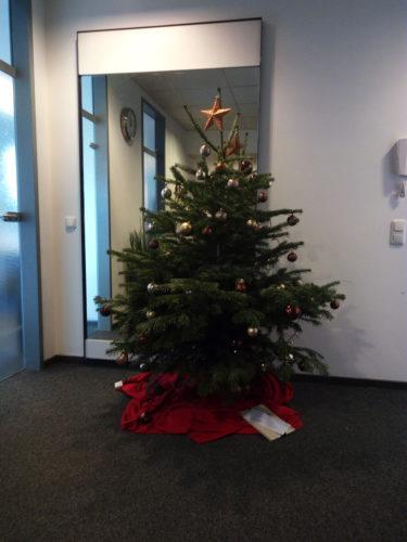 Unser Betriebstannenbaum