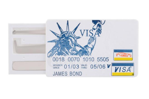 Lockpicking Creditcard