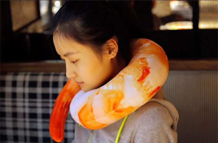 Shrimp-Nacken-Kissen