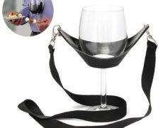 Weinglas Tragegurt