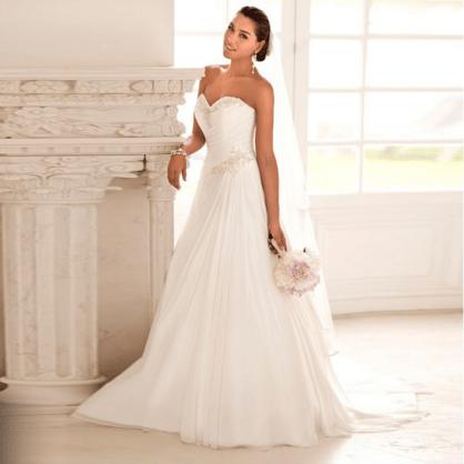 Traumhochzeit made in China - Brautkleid für 36,22€