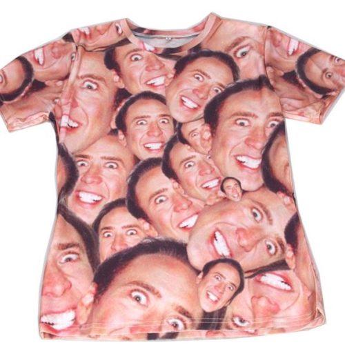 cage tshirt