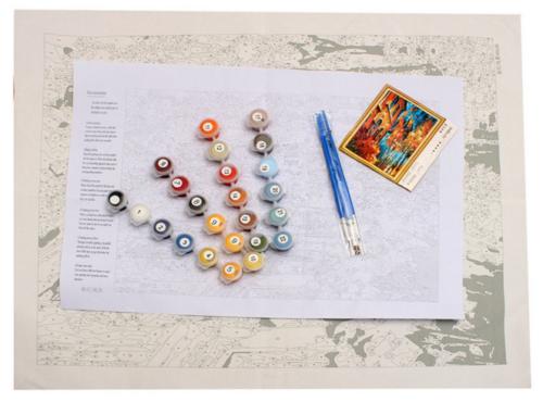Tolle Farbe Nach Zahlen Weihnachtsdruckvorlagen Ideen - Ideen färben ...