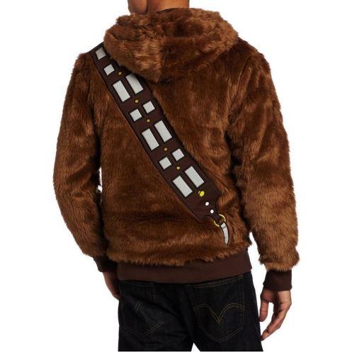 Chewbacca-Hoodie Rueckseite