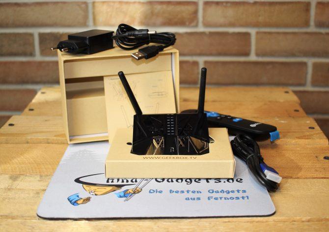 Geekbox Verpackung