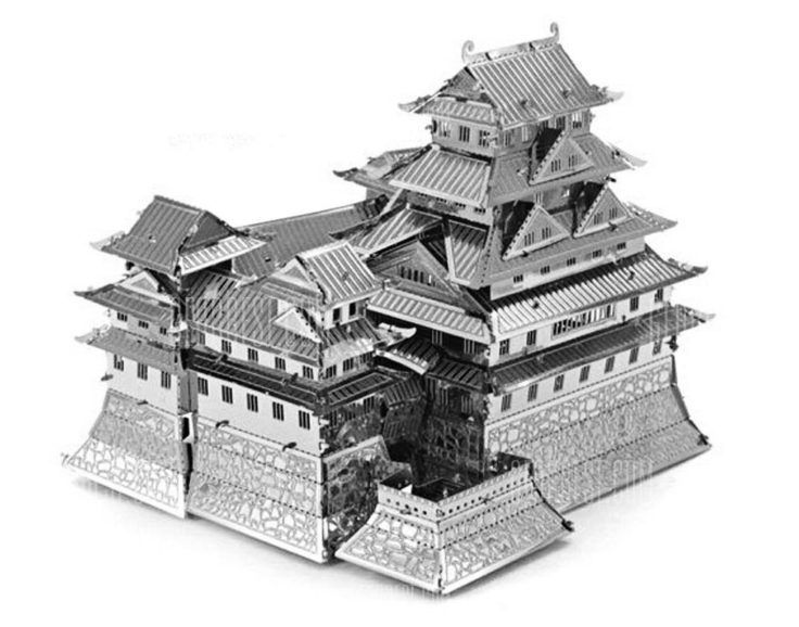 Metall 3D Puzzle Palast