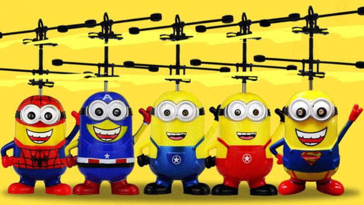 Schwebende Figuren Minions