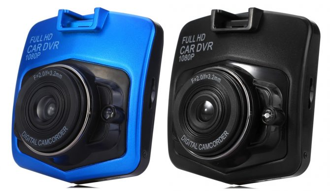 DVR Dashcam in Blau & Schwarz