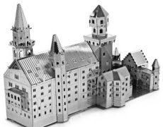 3D Metall Puzzle Neuschwanstein