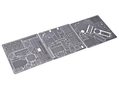 Metall Puzzle Bauteile