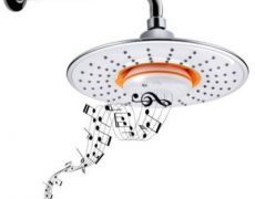 Duschkopf Bluetooth Speaker Musik