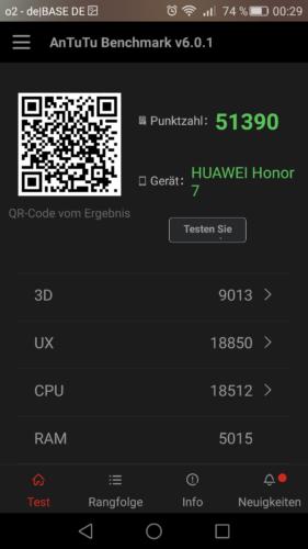 Honor 7 Antutu