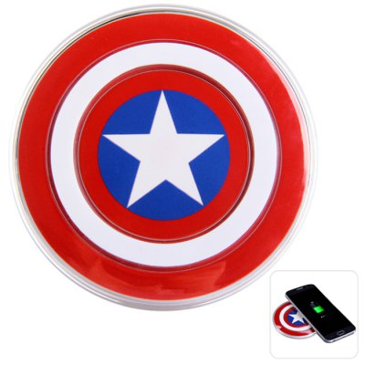 cpt america qi charger