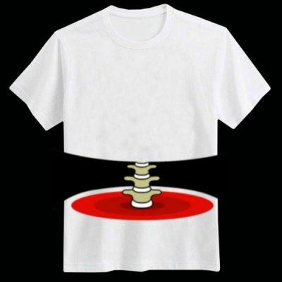 Hast du abgenommen? - Witziges Skelett-T-Shirt für 4,40€