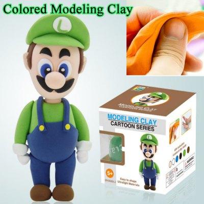 DIY Luigi Knete